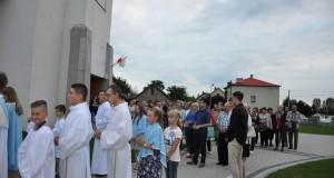 Uwielbienie i całonocna adoracja w I rocznicę powstania parafii (13 września 2019)